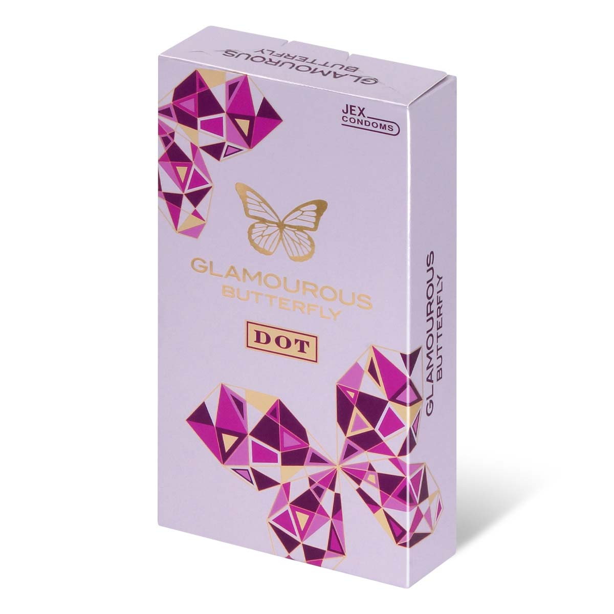 Glamourous Butterfly Dot Type 8's Pack Latex Condom